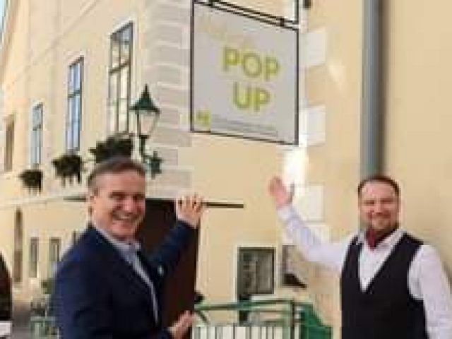 Pop Up-Store mitten in Mödling….